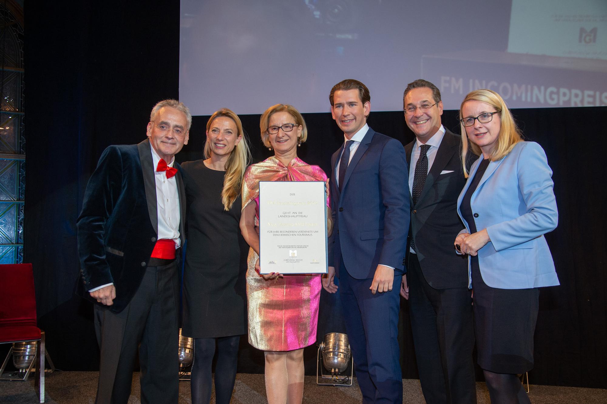 FM Incomingpreis im Wiener Palais Ferstel